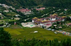 Dzong de Timbu, el de mayor alto rango administrativo y religioso