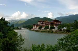 Dzong de Punakha, el más bonito de Bután