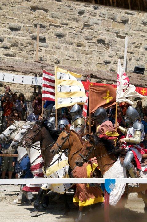Torneo medieval en Carcassonne