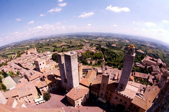 San Gimignano, en la Toscana italiana