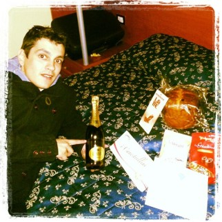 Cesta de Navidad sorpresa en el hotel de Roma (y eso que estaba en el barrio judío)