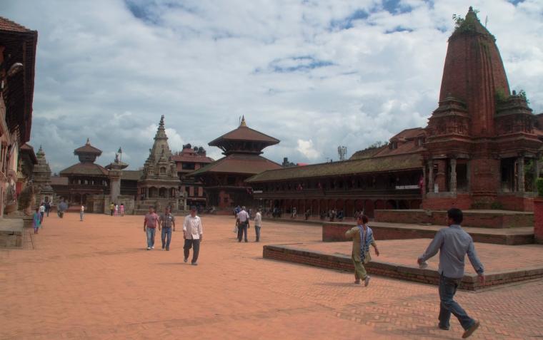Plaza de Bhaktapur, Nepal