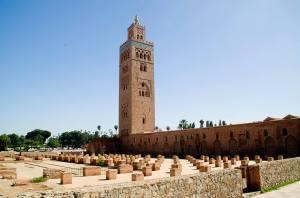 La mezquita Koutobia en Marrakech