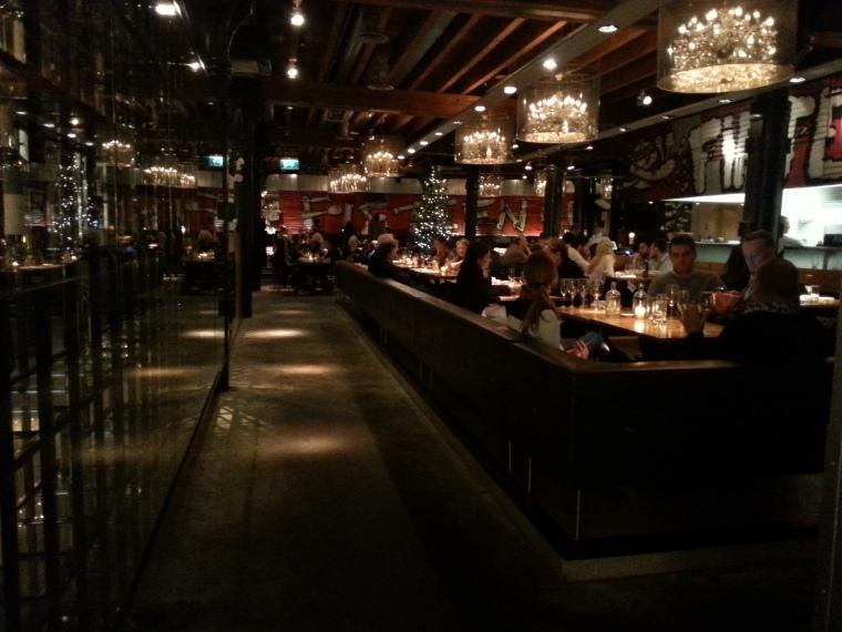 Restaurante Fifty del popular cocinero Jamie Oliver