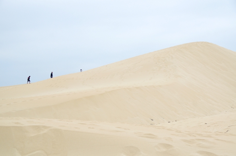Subida a la duna de Bolonia, Tarifa