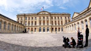 Palacio Rohan, sede del Ayuntamiento de Burdeos