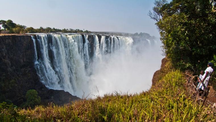 Cataratas Victoria, Victoria Falls, en el río Zambeze