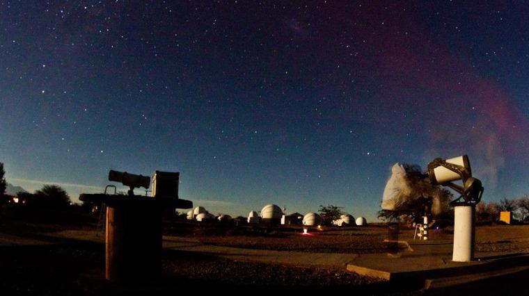 En Space aprendimos a mirar el cielo y pudimos observarlo a través de 10 de sus telescopios