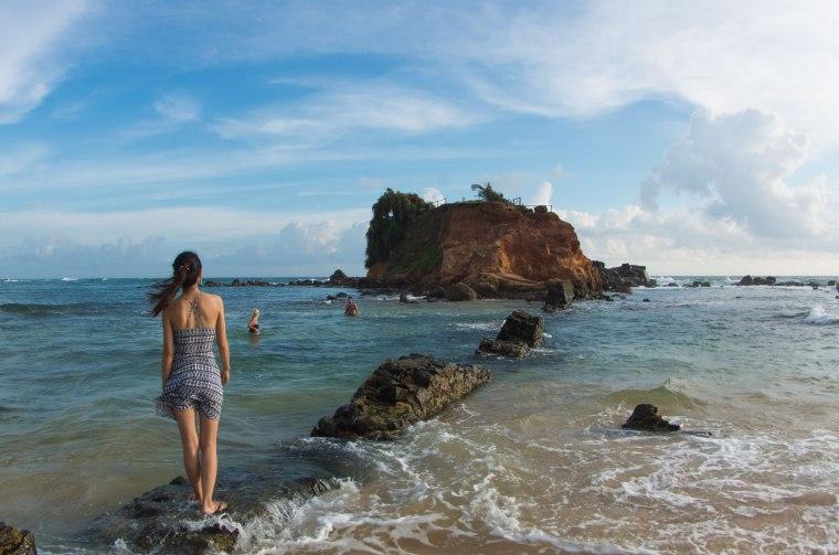 Diario de viaje sri lanka playa de Mirissa