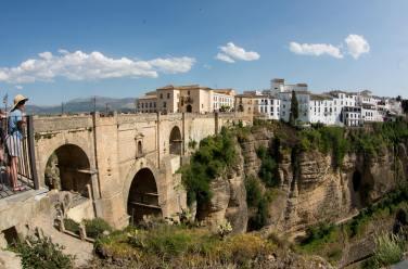 Puente Nuevo de Ronda desde el Parador Nacional