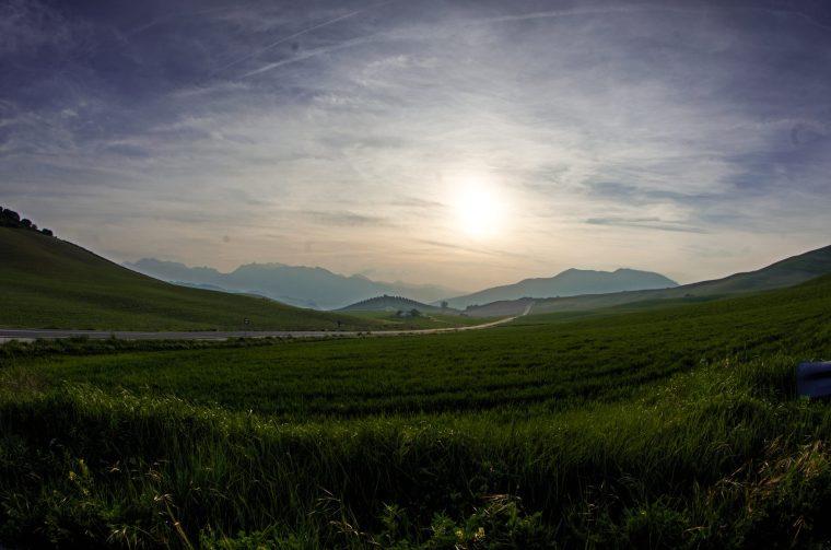 Los paisajes de la serranía de Ronda son espectaculares, ¡Y al atardecer más!