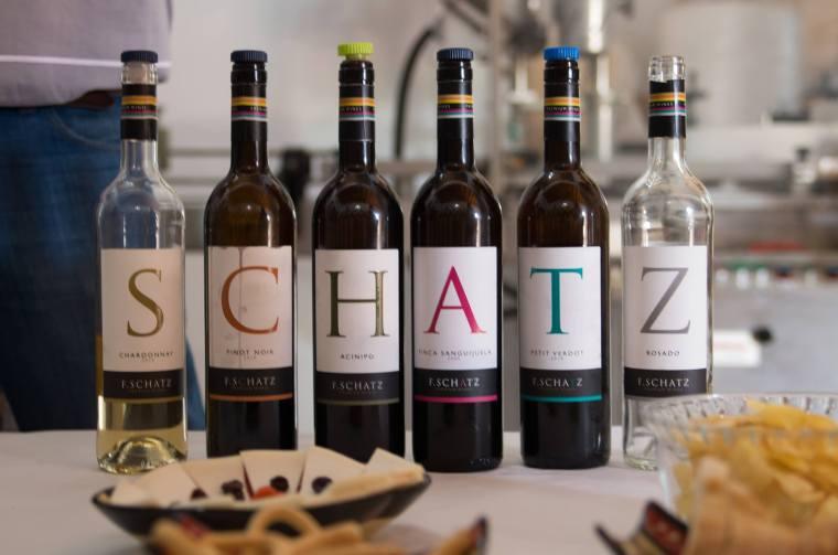 Cata de vinos en la bodega Federico Schatz, Ronda