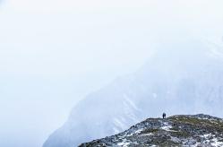 Vistas de Picos de Europa tras subir en el teleférico de Fuente Dé, Cantabria