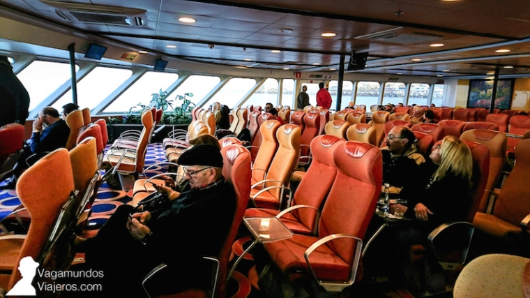 Ferry de Los Cristianos en Tenerife a San Sebastián de La Gomera