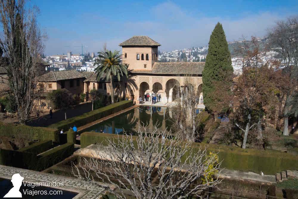 La alhambra de granada vagamundos viajeros - Residencia los jardines granada ...