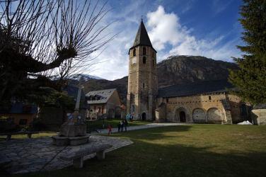 Iglesia de Sant Andreu en Salardú, Valle de Arán